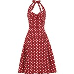 Retro šaty Collectif Joanna Red Polka