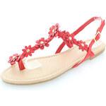 Belle Women Červené sandály Floraeta