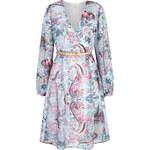 Uttam Boutique Dámské šaty UBSD74_BLUE