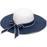 Art of Polo Dámský modrobílý letní klobouk cz16113.1