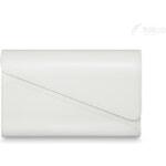 Večerní bílá kabelka Felice Clutch (F11) odstíny barev: bílá