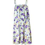 Yes!Miss dámské šaty květované světle modré L
