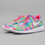 Nike Roshe One Print (GS) pink blast / white - electrc green