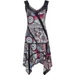 Joe Browns Luxusní dámské letní vzorované šaty s krajkou, size XL, color Barevná