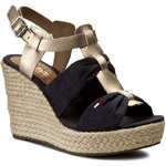 Espadrilky TOMMY HILFIGER - DENIM Lively 31C EN56820969 Midnight 403