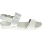 Caprice dámské sandály 9-28603-26 bílá-stříbrná