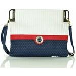 Dámská kabelka Pabia 2962b - modro-bílá