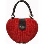 Dámská kabelka Banned Nikki červená