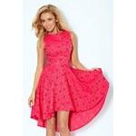 SAF Dámské šaty Exklusiv Malinová růže