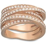 Swarovski Ring Spiral rosegold