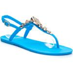 VICES Krásné modré dámské sandálky