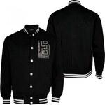 Hoodboyz College Jacket Black Gray