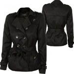 Vila Shinu Short Trenchcoat Transition Jacket