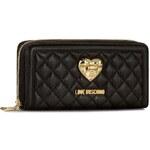 Velká dámská peněženka LOVE MOSCHINO - JC5501PP12LA0000 Trap.Nero