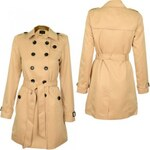 Vila Shinu Long Trenchcoat Coat