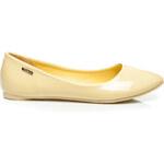 VICES Designové dámské baleríny - žluté