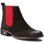 Kotníková obuv s elastickým prvkem LORETTA VITALE - 2601 Nab Nero