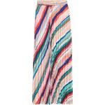 H&M Plizovaná šifonová sukně