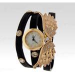 Wayfarer Dámské hodinky s kamínky Angel 12439 černé