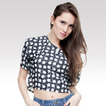 Wayfarer Crop-top tričko Cursor