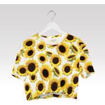 Wayfarer Crop-top tričko Sunflowers