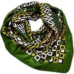 Velký šátek 63sv006-51.53 - zelený