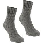 Ponožky Karrimor Wool Outdoor 2 Pack dám. popelavě šedá