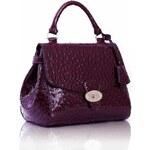 LS Fashion Kabelky, kabelka s efektem pštrosí kůže