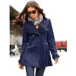 BUFFALO krátký dámský kabát (vel.36 skladem) 36 námořnická modř Dopravné zdarma!