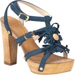 Chillany Letní sandály 37 námořnická modř