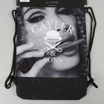 Cayler & Sons BL B&M Gymbag černý / tmavě šedý