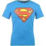 Superman TShirt Junior Superman Blue 9-10 (MB)