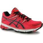 Asics GT 1000 Ladies Running Shoes Pink/Blk/Silver 3