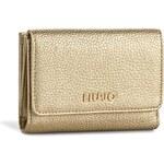 Velká dámská peněženka LIU JO - Portafoglio C/Patta A66127 E0086 Light Gold 04178