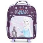Disney Tašky / Aktovky na kolečkách Dětské REINE DES NEIGES SAC A DOS TROLLEY 35CM Disney