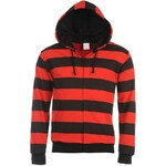Ethic Star Zip Hoody Striped Small