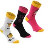 Character Miss Socks 3 Pack Ladies - Ladies