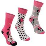 Disney Socks Ladies 3 Pack - Ladies 4-8