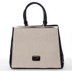 Dámská luxusní kabelka černá - David Jones Verdiana černá