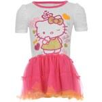 Hello Kitty Dress Infant Girls White 2-3 Yrs