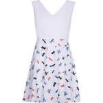 Iska Dámské šaty RA1658_WHITE