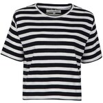 Full Circle Milly Stripe T Shirt White/Navy 12 (M)