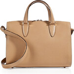 Valextra Leather Small Heritage Tote