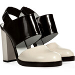 Jil Sander Leather Closed Toe Sandals