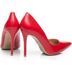 N - A Módní dámské lodičky - červené krásné
