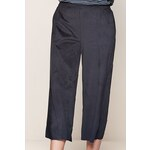 Intimissimi Suede Wide-leg Cropped Trousers