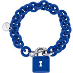 Ops! Objects náramek Lock modrý