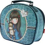 Santoro modrý kosmetický kufr Hush Little Bunny