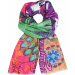 Desigual barevný šátek Soft Sumatra