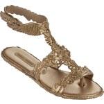 Melissa zlaté boty Campana Barroca Sandal Gold
